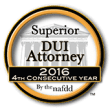 Superior DUI Attorney - 4th Consecutive Year